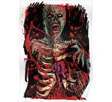 Zombie Brain Eater Poster