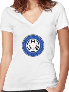 ARC logo Women's Fitted V-Neck T-Shirt