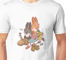 nuts and squirrels Unisex T-Shirt