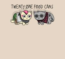Twenty One Food Cans Unisex T-Shirt