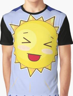 Cute Sunny Smile Graphic T-Shirt
