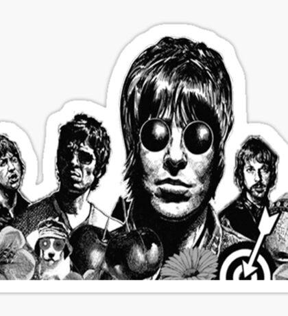 four people Sticker