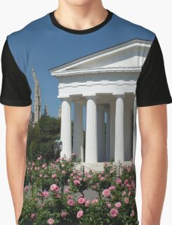 Theseus Temple in the Volksgarten, Vienna Austria Graphic T-Shirt