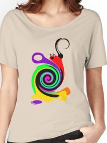 Moony the Snail Women's Relaxed Fit T-Shirt
