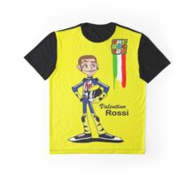 Valentino rossi caricature Graphic T-Shirt