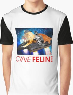 Cinefeline  Graphic T-Shirt