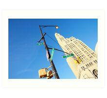 Brooklyn Clocktower Art Print