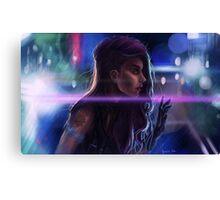 Cybergirl Canvas Print