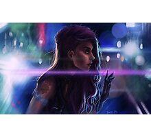 Cybergirl Photographic Print