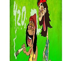 Cheech and Chong|4/20|Weed by leeewiis