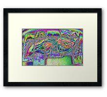 Neon Callas Framed Print