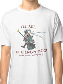 adc e support <3 v.6 Classic T-Shirt
