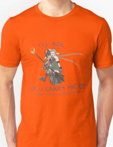 adc e support <3 v.6 Unisex T-Shirt