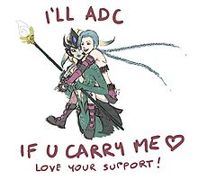 adc e support <3 v.6 Photographic Print