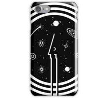 Through The Black Hole iPhone Case/Skin