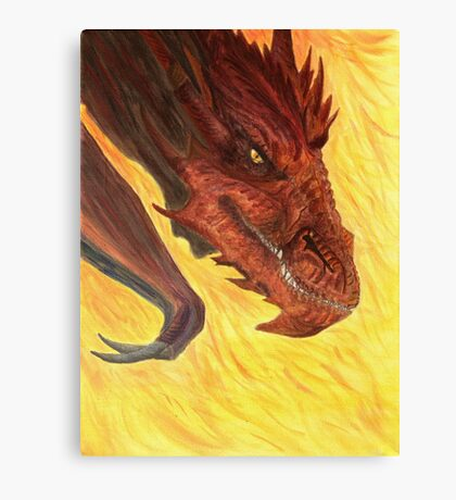 I Am Fire Canvas Print