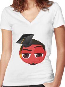 Graduate Women's Fitted V-Neck T-Shirt