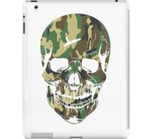 army skull iPad Case/Skin