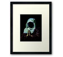 Praying. Framed Print