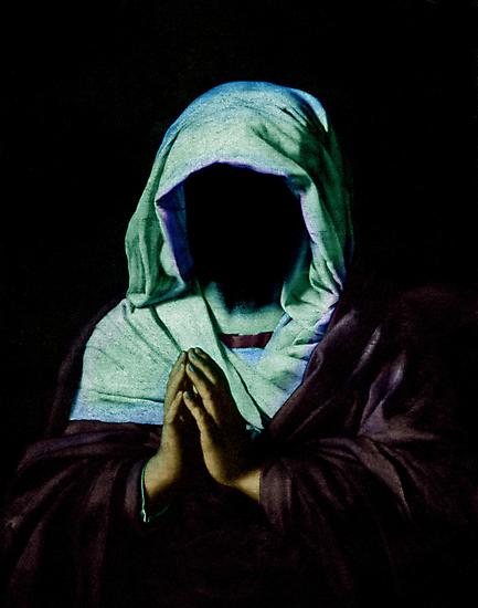 Praying. by nawroski .