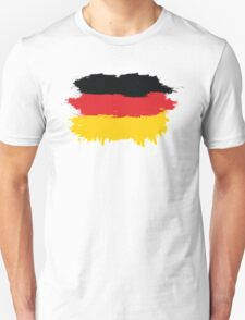 Germany - Paint Splatter Unisex T-Shirt