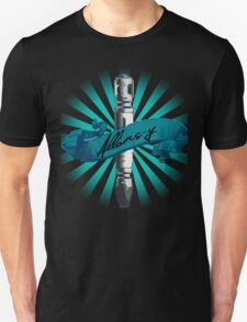 Sonic Screwdriver Allons-y Sun Burst -Doctor Who T-Shirt