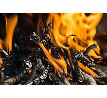 FIRE ONE Photographic Print