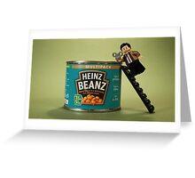 Mr Beanz Greeting Card