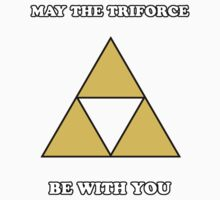 May the Triforce Be With You Baby Tee