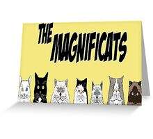 The Magnificats Card #5 Greeting Card