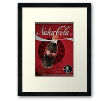 Nuka Cola Poster Framed Print