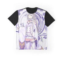 Re:Zero kara Hajimeru Isekai Seikatsu - Emilia 3 Graphic T-Shirt