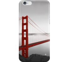 Golden Gate Bridge (Vectorillustration) iPhone Case/Skin