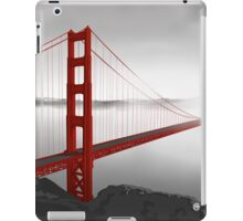 Golden Gate Bridge (Vectorillustration) iPad Case/Skin