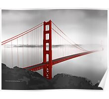 Golden Gate Bridge (Vectorillustration) Poster