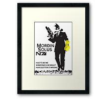 Mordin Solus 007 Framed Print