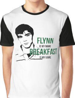 Flynn Loves Breakfast Graphic T-Shirt