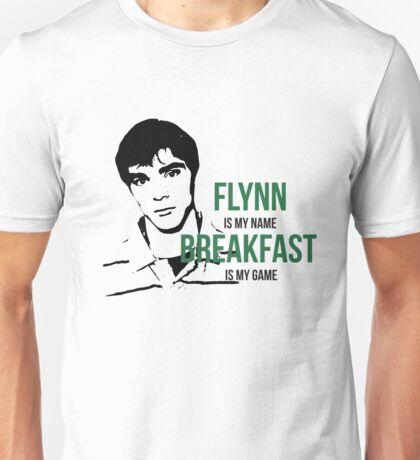 Flynn Loves Breakfast Unisex T-Shirt