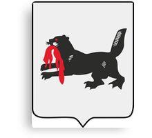 Coat of Arms of Irkutsk Oblast Canvas Print
