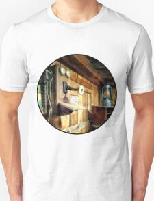 Old Fashioned Telephone in Office Unisex T-Shirt