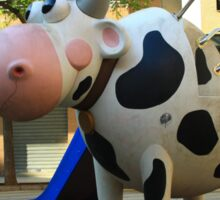 Playgroung cow Sticker