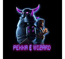 Pekka,Wizard,Clash Of Clans Photographic Print