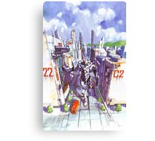 Evangelion #02 Canvas Print