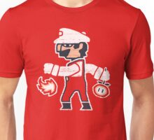 PLUMBER BETWEEN WORLDS Unisex T-Shirt