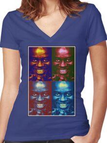 Ainsley Harriott Pop Art - Funny, Memes & Fashion Women's Fitted V-Neck T-Shirt
