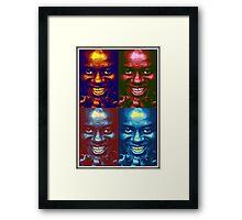 Ainsley Harriott Pop Art - Funny, Memes & Fashion Framed Print