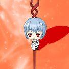 Chibi Rei Ayanami by artwaste