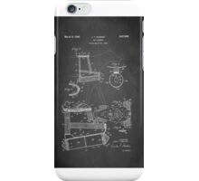 Dog Harness Patent 1945 iPhone Case/Skin