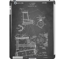 Dog Harness Patent 1945 iPad Case/Skin