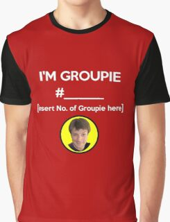 """I'm Groupie Number.... "" Joss Whedon's Dr. Horrible - Light Graphic T-Shirt"